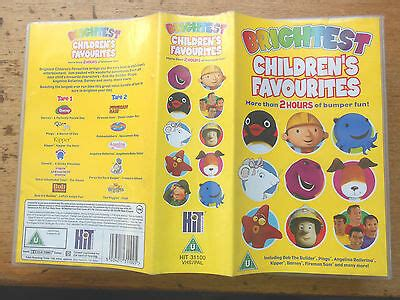 brightest children s favourites vhs tested 163 7 50 picclick uk