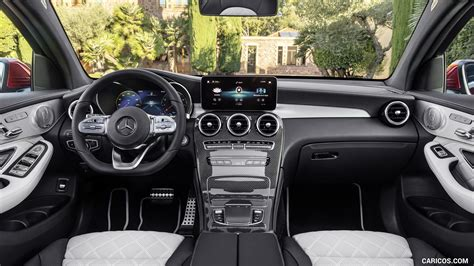 The glb can't compete with the glc on looks or interior noise levels, but they both share infotainment issues. 2020 Mercedes-Benz GLC 300 Coupe 4MATIC - Interior ...