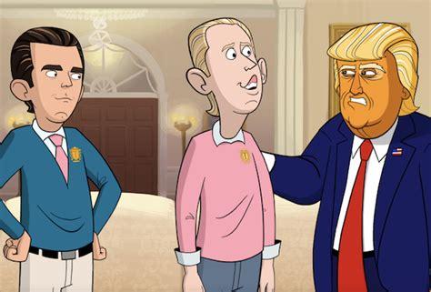 donald trump  cartoon president series premiere recap