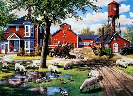 Farmyard Animal Wallpaper - farmyard companions other animals background