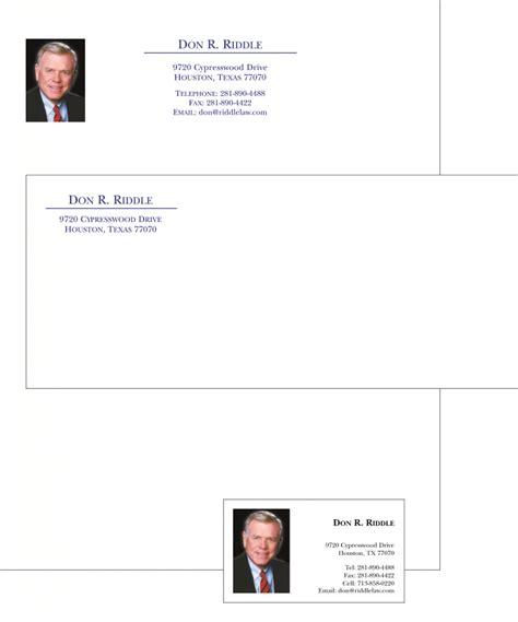 business letterhead printing design houston print shop