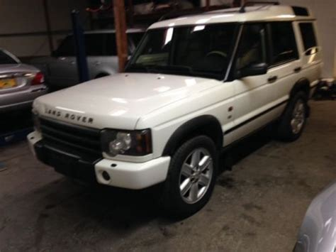 Sell Used 2003 Land Rover Discovery Ii Se 4wd Suv Great