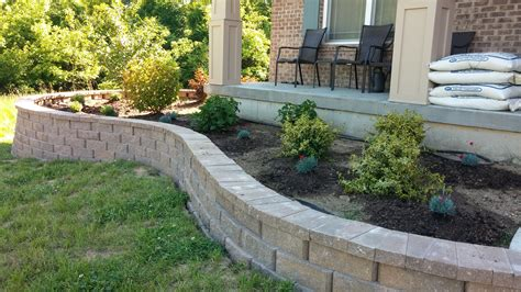 front yard retaining wall retaining wall complete front yard landscape design advice throughout retaining wall landscaping
