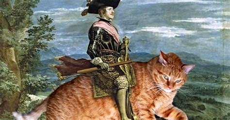 Turns Out Fat Cats Make Famous Works Of Art A Lot Better