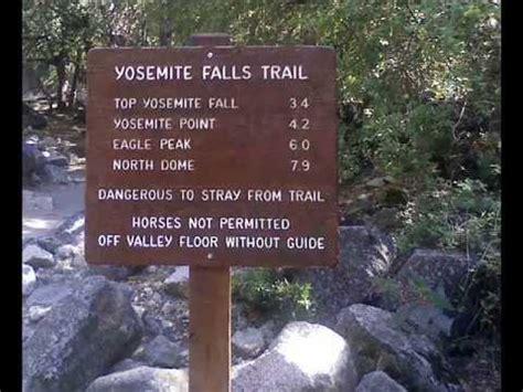 Yosemite Falls Trail Miles Under Minutes Youtube