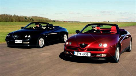 Alfa Romeo Gtv & Spider 916series Giant Group Road Test