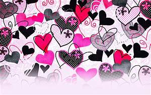 Colorful Hearts Twitter Layout - Hearts Twitter Background ...