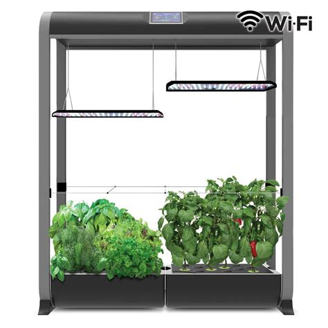 aerogarden farm  large  black    home depot