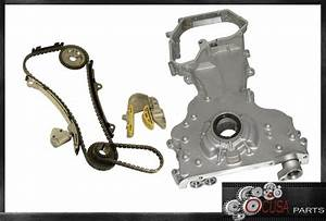 New Timing Chain Kit Engine Timing Cover For Nissan Altima