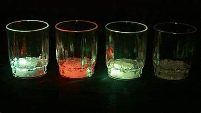 Glasses Shot Glass Flashing
