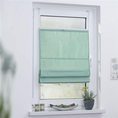 Raffrollo Große Fenster by Raffrollo Klemmfix Top Ohne Bohren Verspannt In Pastell