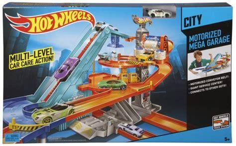 wheels mega garage jual wheels motorized mega garage playset termurah