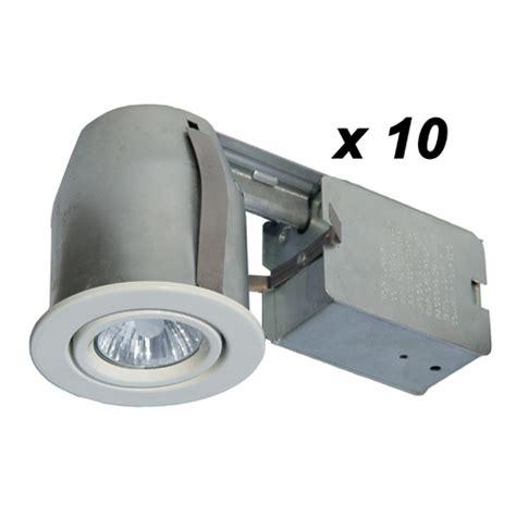 10 halogen recessed lights rona