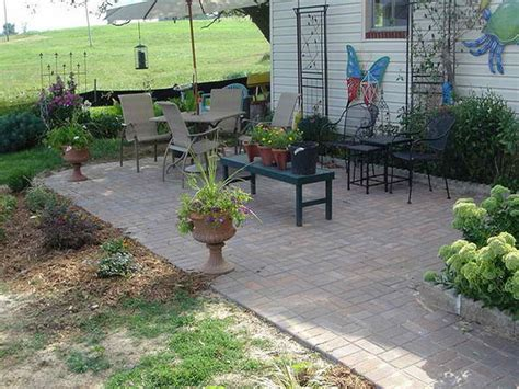 Simple Concrete Patio Designs, Lovely Simple Patio Designs
