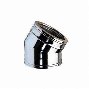 Chapeau Inox Pour Tubage : coude 30 inox pour tubage de conduit double paroi isol ~ Edinachiropracticcenter.com Idées de Décoration