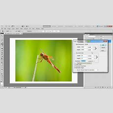 How To Make A Custom Print Size From Photoshop Youtube