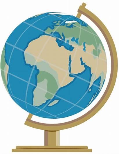 Globe Clipart Clip Simple Earth Clipartpost Cliparts
