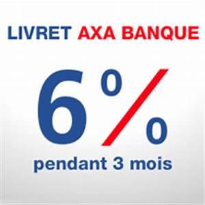 Credit Axa Banque : axa banque le taux du livret grimpe 6 pendant 3 mois jusqu 100000 euros ibanques ~ Maxctalentgroup.com Avis de Voitures