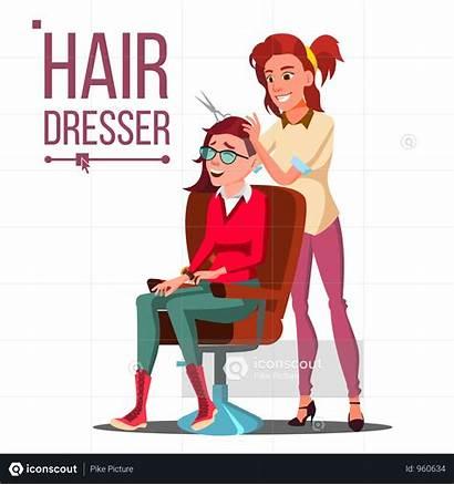 Salon Vector Beauty Illustration