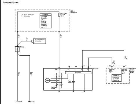 Chevrolet Wiring Harnes Diagram by Alternator Wiring Harness Diagram Chevrolet Colorado