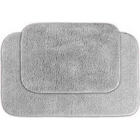 glamor nylon  piece washable bathroom rug set walmartcom