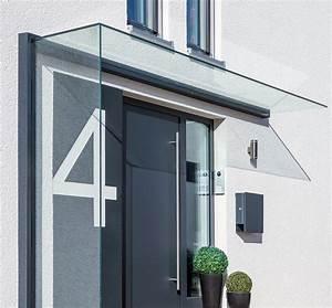 Haustürüberdachung Mit Seitenteil : vordach mit windschutz aus glas glasprofi24 ~ Whattoseeinmadrid.com Haus und Dekorationen