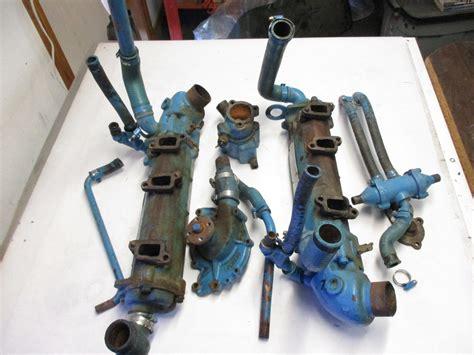 1960's Exhaust Manifold Omc Chris Craft Buick V6 Engine
