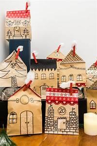 Adventskalender Tüten Depot : adventskalender basteln fenster ~ Watch28wear.com Haus und Dekorationen