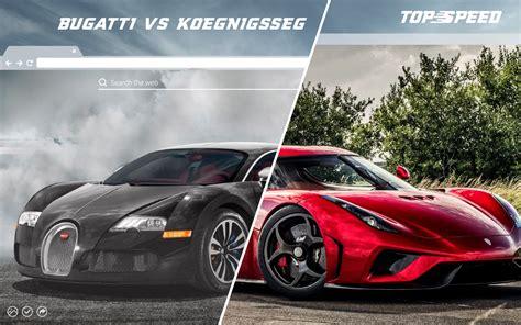 Bugatti Vs by Bugatti Vs Koenigsegg Hd Wallpaper Theme Top Speed Motors