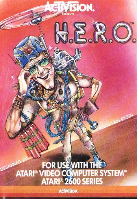 Hero 1984 Atari 2600 Box Cover Art Mobygames