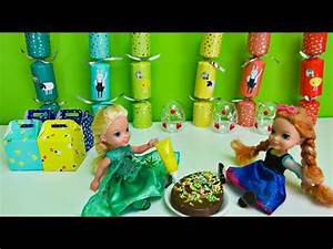 Elsa and Anna toddlers get ready for Easter - YouTube