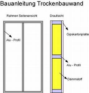 Profile Trockenbau Decke : bauanleitung trockenbau trockenbauwand anleitung decke wand selber machen ~ Orissabook.com Haus und Dekorationen