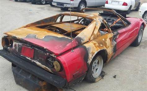 burn victim 1978 ferrari 308