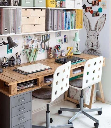 bureau sfr bureau en bois 34 idées diy très cool en palette europe