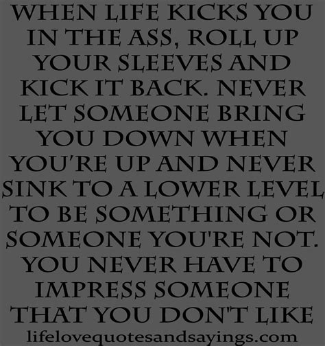 Not Letting Others Bring You Down Quotes