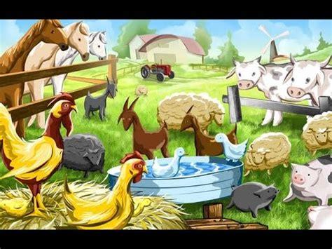farm house  pet animals animal song  kids