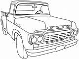 Coloring Pages Ford F150 Printable Sheets Getcolorings sketch template