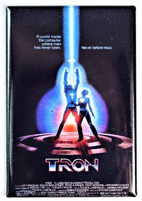 tron  poster fridge magnet jeff bridges sci fi