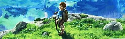 Zelda Legend Breath Wild Dual Screen Wallpapers