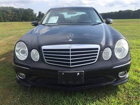This is a sleek and aggressive looking car with a black exterior and black leather interior. 2007 Mercedes E350 AMG package 4matic---WE FINANCE EVERYONE for sale in Burlington, NJ ...