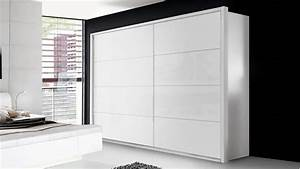 Schwebetürenschrank Weiß Hochglanz : schwebet renschrank starlet plus 2 t rig in wei hochglanz 270x210 cm ~ Orissabook.com Haus und Dekorationen
