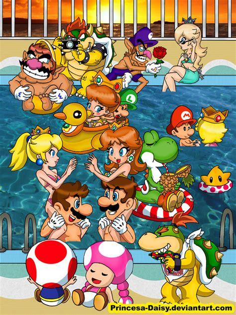 Mario Gang Summer Time 2011 By Princesa Daisy On Deviantart