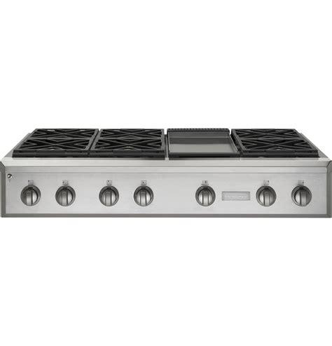 ge monogram  professional gas rangetop   burners