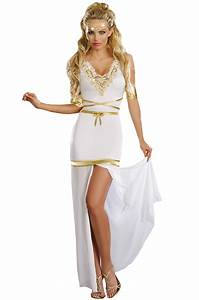 Goddess of Love Aphrodite Adult Costume - PureCostumes.com