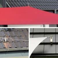 Befestigung Sonnensegel Hauswand by Dachpfannen Befestigung F 252 R Sonnensegel Kaufen Pina
