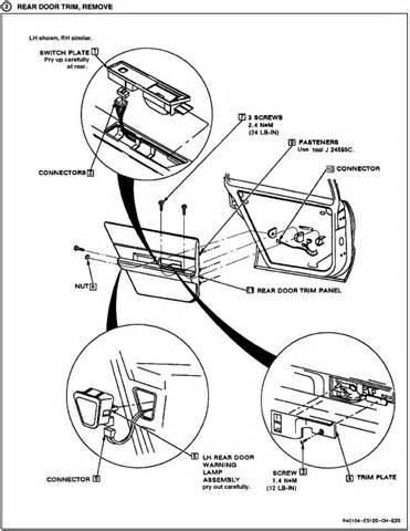 [Diagrams To Remove 2005 Buick Lacrosse Driver Door Panel
