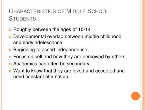 early adolescent development