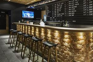 Craft beer bar interior design project receives an for Home beer bar furniture