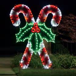 shop holiday lighting specialists 8 3 ft crossed candy canes outdoor christmas decoration with