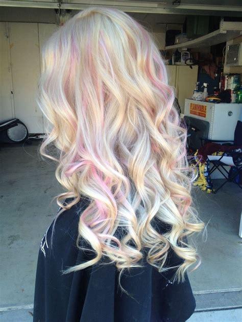 25 Best Ideas About Pink Hair Highlights On Pinterest
